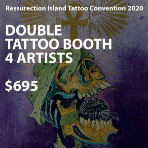 Protected: Artist Double Booth
